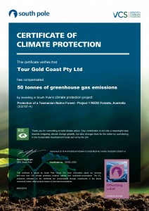 South Pole Certificate Feb 2018
